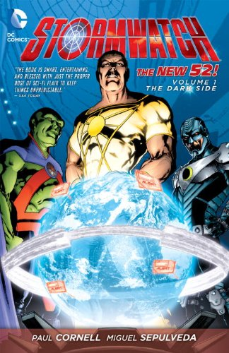 Stormwatch Vol. 1: the Dark Side (the New 52)   2012 9781401234836 Front Cover