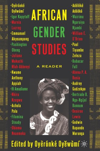 African Gender Studies A Reader  2004 (Revised) edition cover