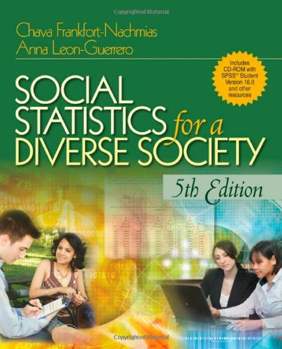 Social Statistics for a Diverse Society  5th 2009 edition cover