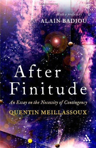 After Finitude An Essay on the Necessity of Contingency  2009 edition cover