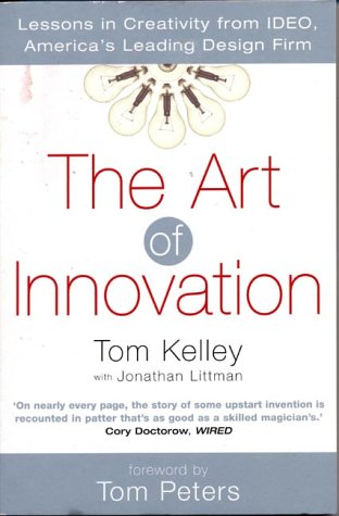 ART OF INNOVATION 1st edition cover