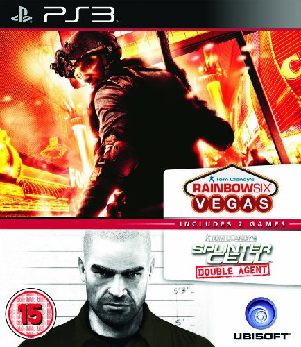 Rainbow Six Vegas & Splinter Cell Double Agent Ubisoft Double Pack PlayStation 3 artwork