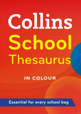 Collins School Thesaurus  2009 9780007289837 Front Cover