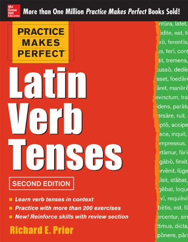 Latin Verb Tenses, 2nd Edition:   2013 edition cover