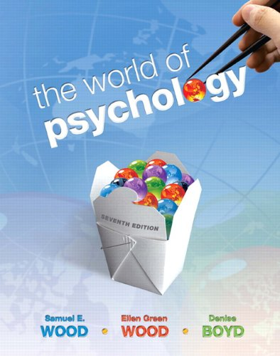 World of Psychology, The (Paperback)  7th 2011 edition cover