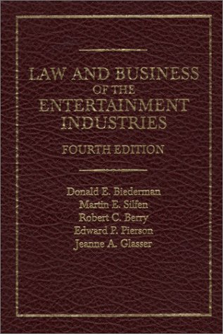 Law and Business of the Entertainment Industries  4th 2001 9780275969837 Front Cover