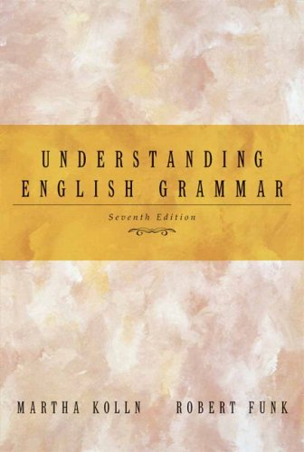 Understanding English Grammar  7th 2006 edition cover