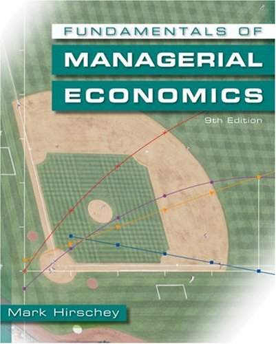 Fundamentals of Managerial Economics  9th 2009 edition cover