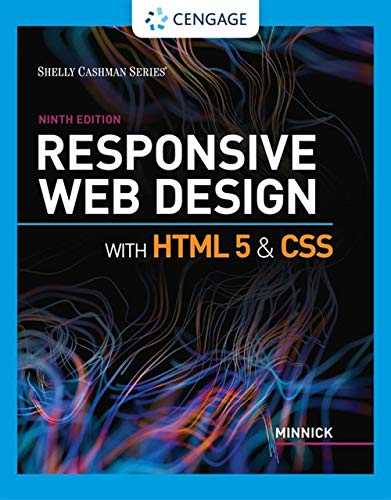 Cover art for Responsive Web Design with HTML 5 and CSS, 9th Edition