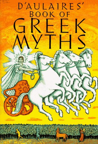 D'Aulaires Book of Greek Myths  N/A edition cover
