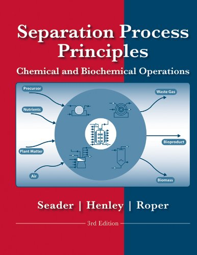 Separation Process Principles 3rd 2011 9780470481837 Front Cover
