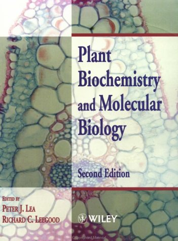 Plant Biochemistry and Molecular Biology  2nd 1999 (Revised) 9780471976837 Front Cover