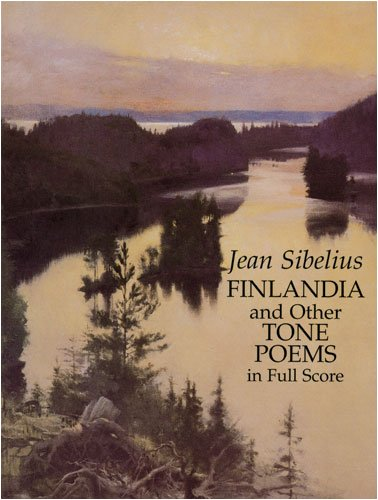 Finlandia and Other Tone Poems in Full Score  N/A edition cover