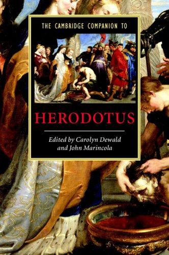 Cambridge Companion to Herodotus   2005 9780521536837 Front Cover
