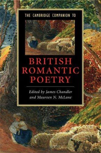 Cambridge Companion to British Romantic Poetry   2008 edition cover
