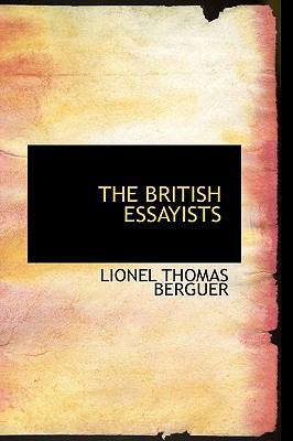 The British Essayists:   2008 edition cover