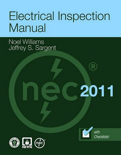 Electrical Inspection Manual 2011  4th 2012 (Revised) 9780763790837 Front Cover