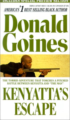 Kenyatta's Escape   1974 (Reprint) 9780870678837 Front Cover