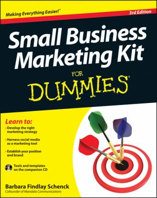 Small Business Marketing for Dummies�  3rd 2012 edition cover