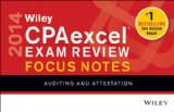Wiley CPAexcel Exam Review 2014 Focus Notes Auditing and Attestation 9th 2014 9781118816837 Front Cover
