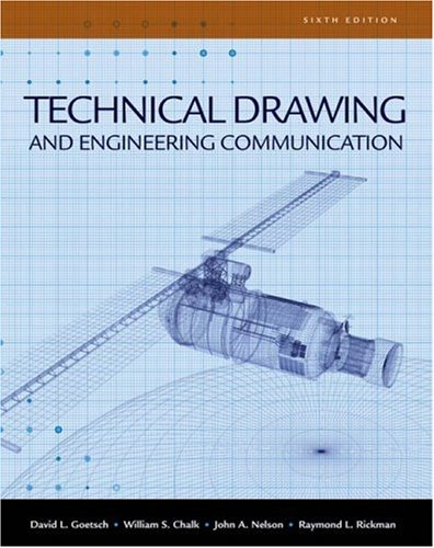 Technical Drawing and Engineering Communication  6th 2010 edition cover