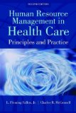 Human Resource Management in Health Care Administration:   2013 edition cover