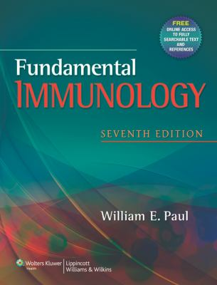 Fundamental Immunology  7th 2013 (Revised) edition cover