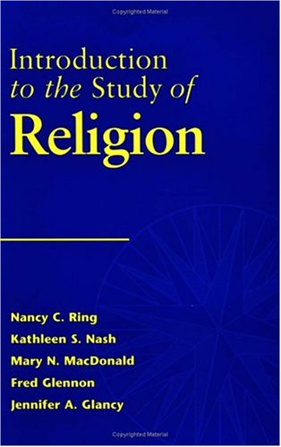 Introduction to the Study of Religion   1998 edition cover
