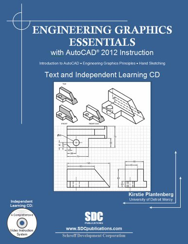 Engineering Graphics Essentials with AutoCAD 2012 Instruction   2011 edition cover