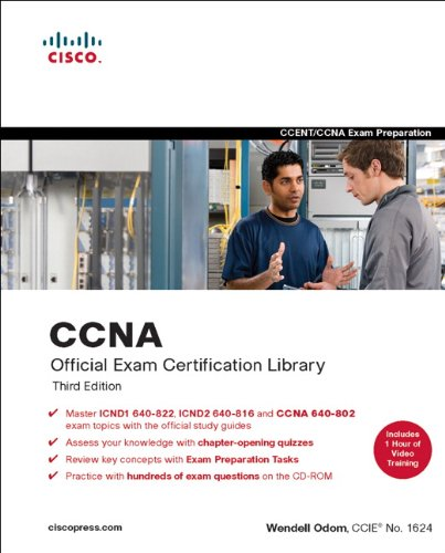CCNA Official Exam Certification Library  2nd 2008 9781587201837 Front Cover