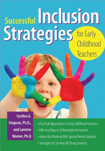 Successful Inclusion Strategies for Early Childhood Teachers   2010 edition cover