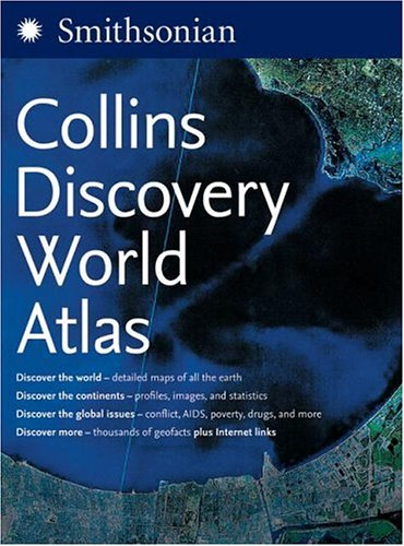 Collins Discovery World Atlas  N/A 9780060818838 Front Cover