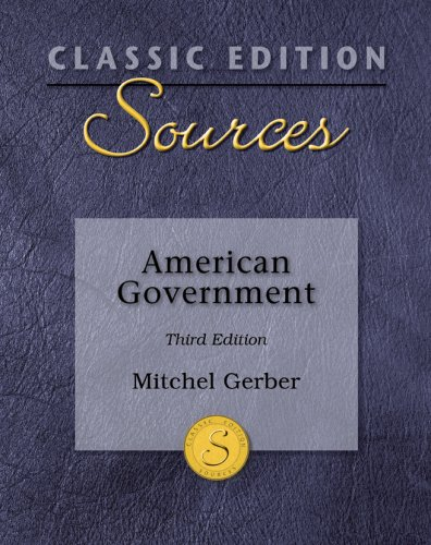 American Government  3rd 2009 edition cover
