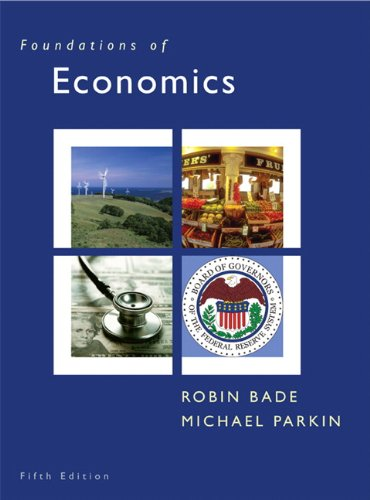 Foundations of Economics  5th 2011 edition cover