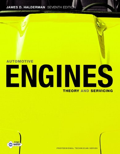 Automotive Engines Theory and Servicing 7th 2011 (Revised) edition cover