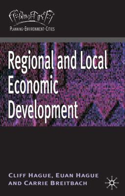 Regional and Local Economic Development   2011 9780230213838 Front Cover