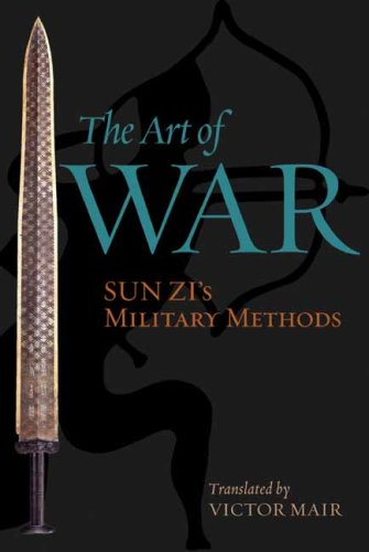 Art of War Sun Zi's Military Methods  2009 edition cover