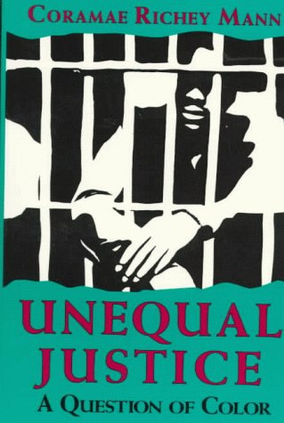 Unequal Justice A Question of Color  1993 9780253207838 Front Cover