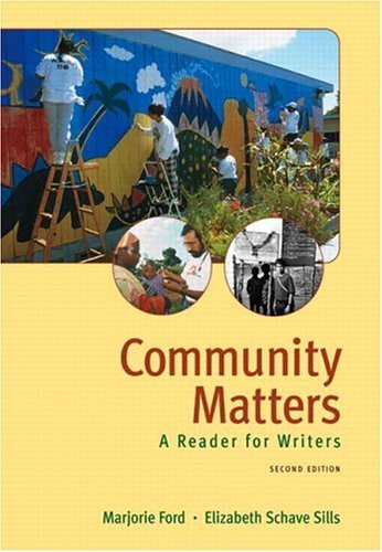 Community Matters A Reader for Writers 2nd 2005 (Revised) edition cover