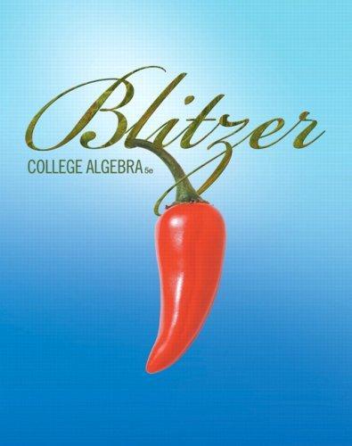 College Algebra  5th 2010 edition cover