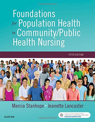 Foundations of Population Health for Community/Public Health Nursing  5th 2018 9780323443838 Front Cover