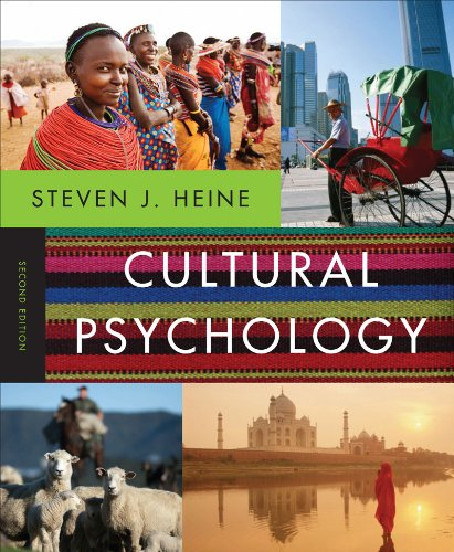 Cultural Psychology  2nd 2012 9780393912838 Front Cover