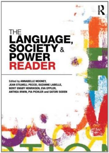 Language , Society and Power Reader   2011 edition cover