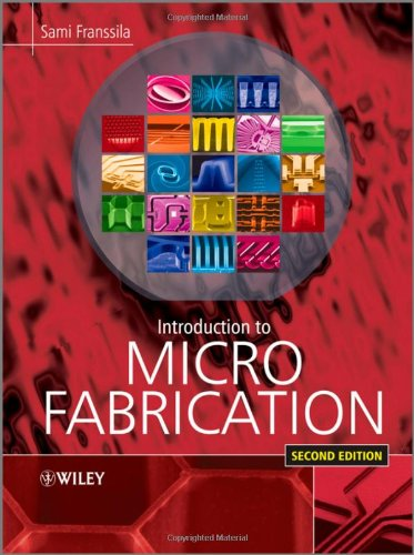 Introduction to Microfabrication  2nd 2010 edition cover