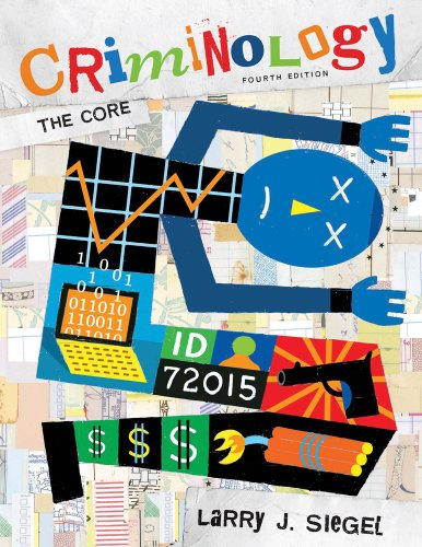 Criminology The Core 4th 2011 edition cover