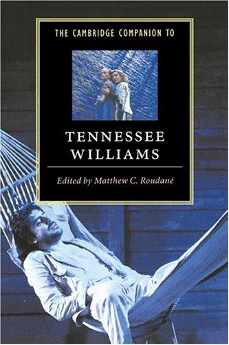 Cambridge Companion to Tennessee Williams   1997 edition cover
