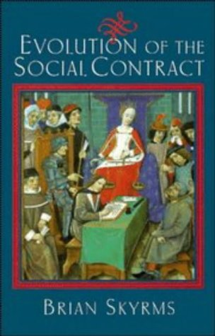 Evolution of the Social Contract   1996 9780521555838 Front Cover