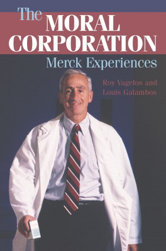 Moral Corporation Merck Experiences  2006 edition cover