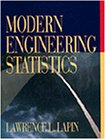 Modern Engineering Statistics   1997 edition cover