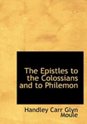The Epistles to the Colossians and to Philemon:   2008 edition cover